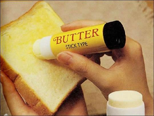 mantequilla para el desayuno