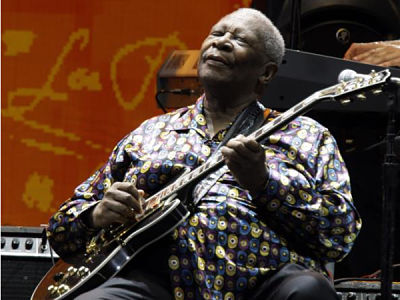 Muere la leyenda del blues B.B. King