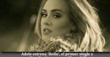 Adele estrena 'Hello'