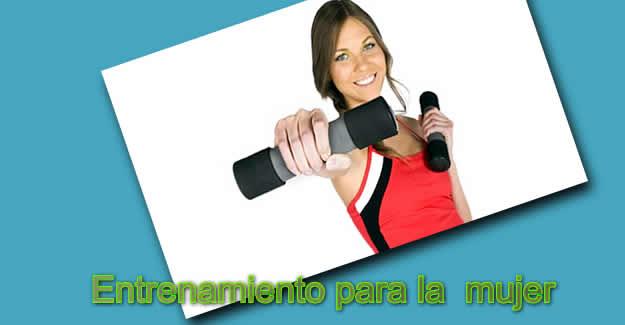entrenamiento para la mujer
