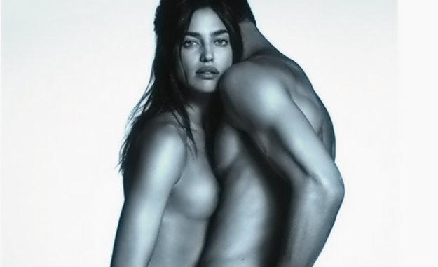 Irina Shayk se desnuda