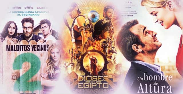Fin de Semana estrenos de Cine