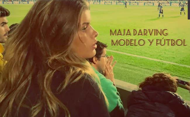 Maja Darving Modelo y Fútbol