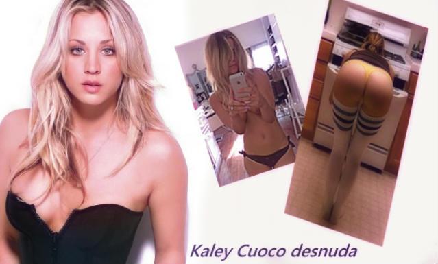 Kaley Cuoco desnuda