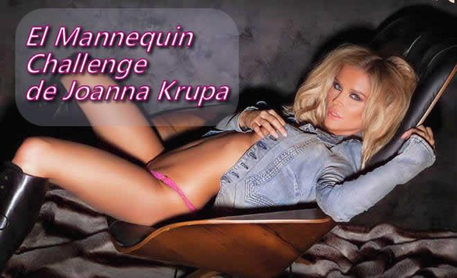 El Mannequin Challenge de Joanna Krupa