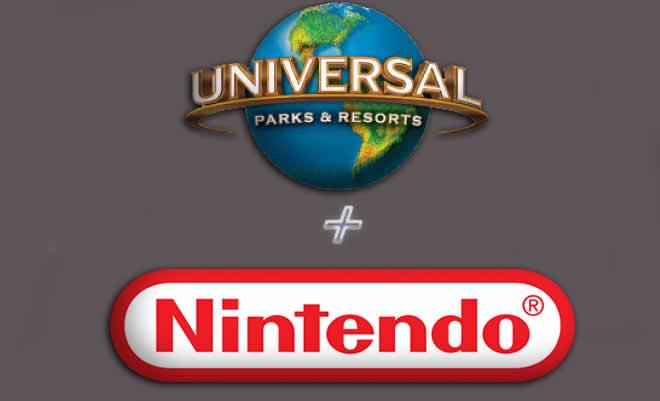Parques Universal y Nintendo se unen