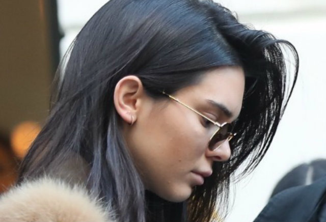Kendall Jenner y su atrevido look transparente