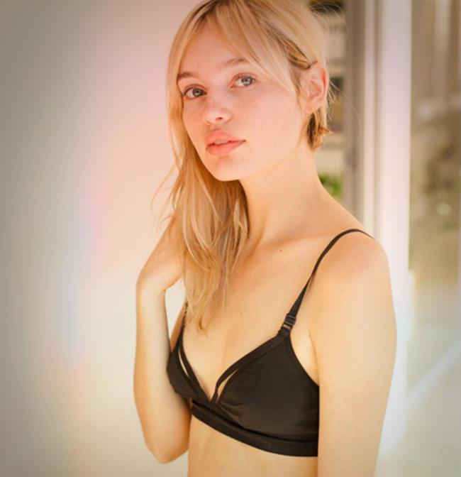 Staz Lindes nueva Imagen de maquillaje de Yves Saint Laurent Beauty