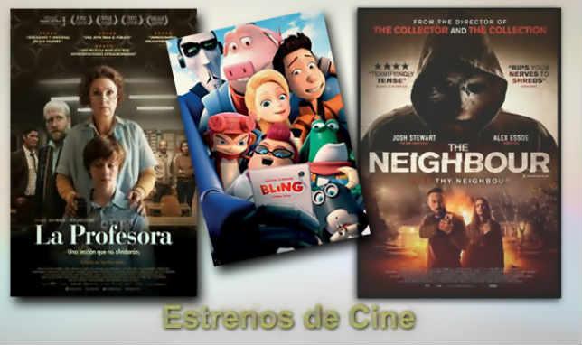 estrenos de Cine