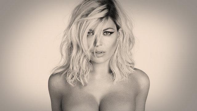 Fergie posa sin ropa y en blanco y negro para su nuevo disco