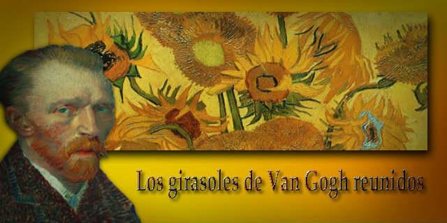 Los girasoles de Van Gogh reunidos gracias a Facebook Live