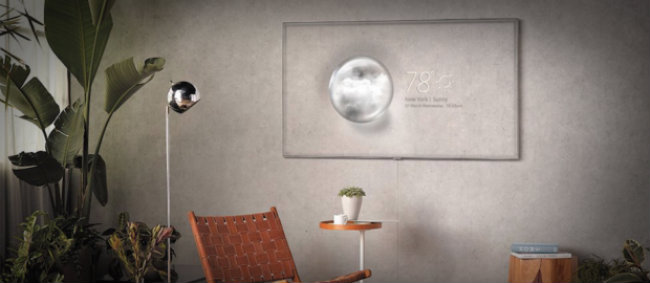 Samsung crea el primer televisor transparente