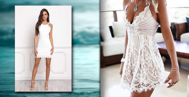 vestidos-blancos para-el-verano