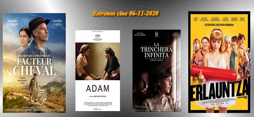 Estrenos-cine- 06-11-2020