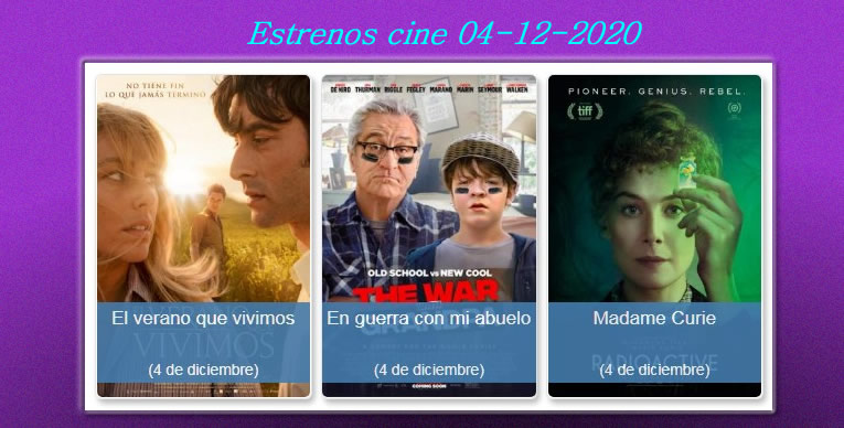 Estrenos-cine- 04-12-2020